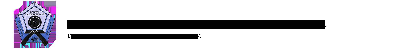 Karatelandesverband Mecklenburg-Vorpommern e.V. Logo